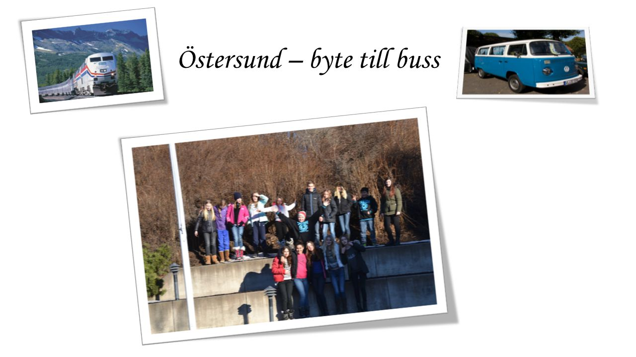 Östersund – byte till buss