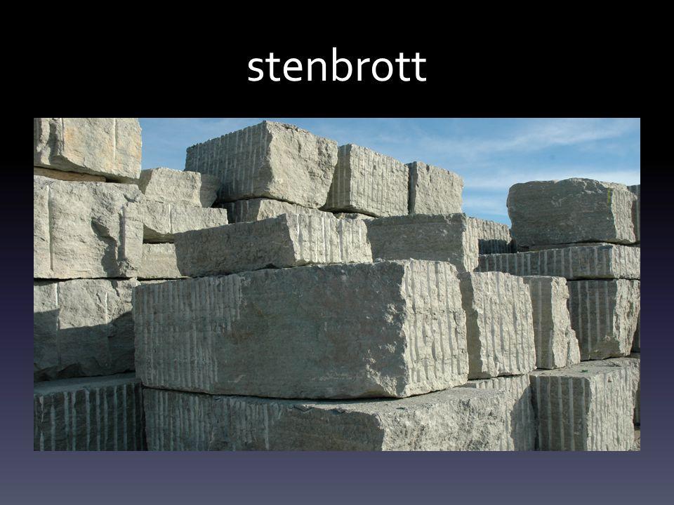stenbrott