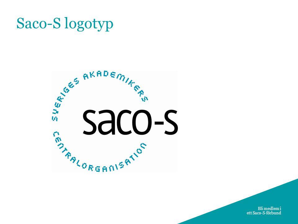 10 Bli medlem i ett Saco-S-förbund Saco-S logotyp