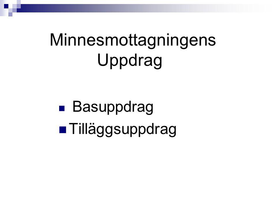Basuppdraget Att utföra utvidgad demensutredning (steg II-utredning, fullständig utredning) Målgrupp: Boende i Västerort över 65 år.