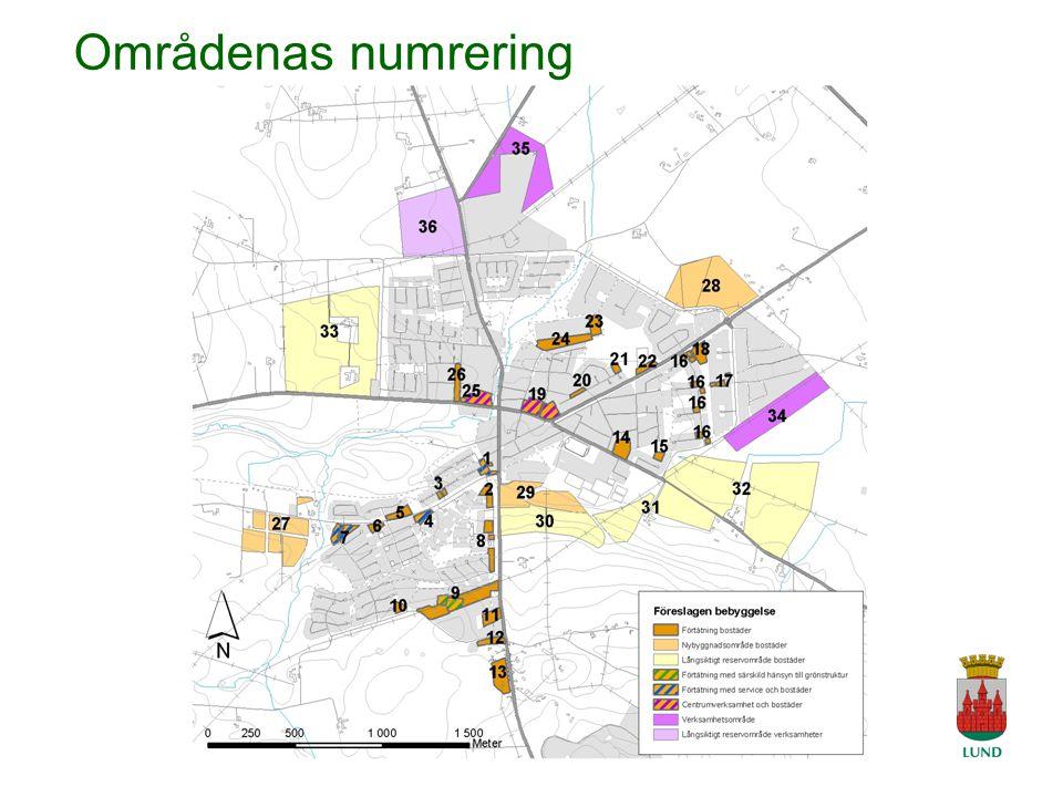 A Tingvar 2006-04-19 Områdenas numrering