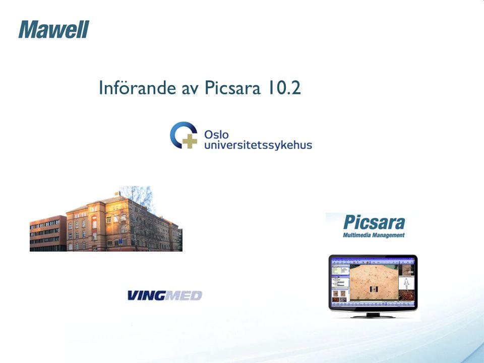 Införande av Picsara 10.2