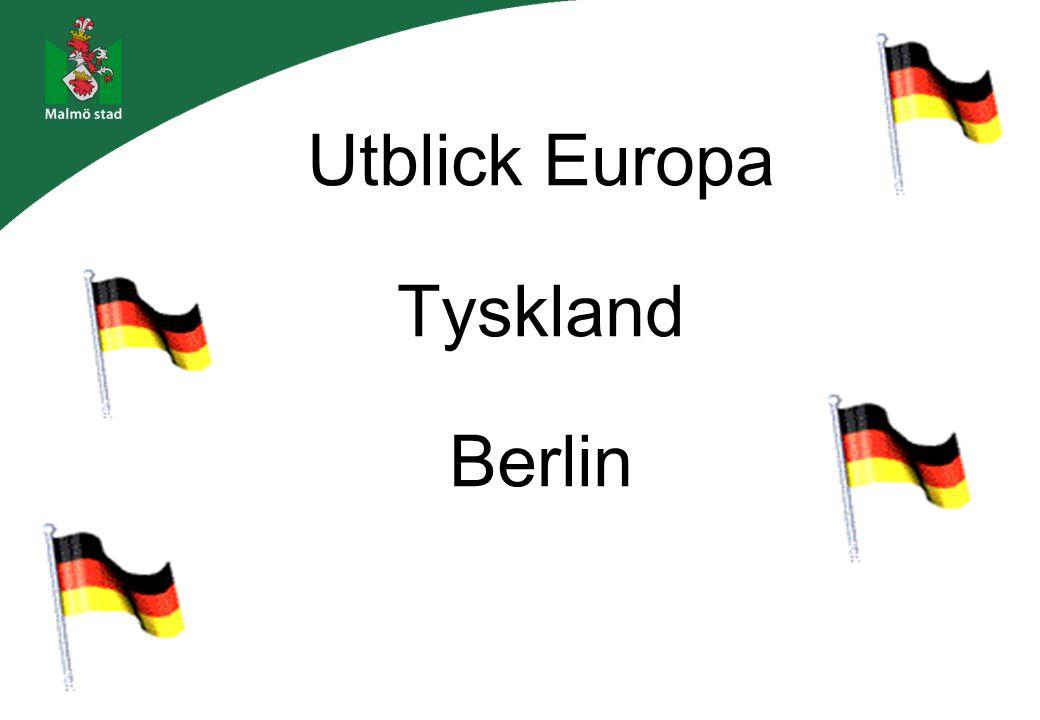 Utblick Europa Tyskland Berlin