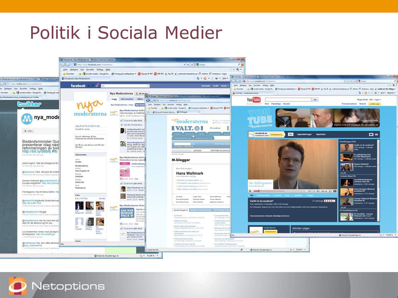 Politik i Sociala Medier