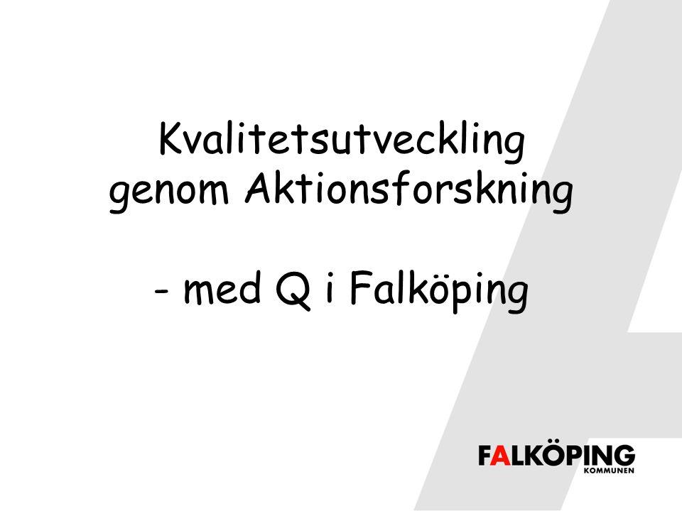 Kvalitetsutveckling genom Aktionsforskning - med Q i Falköping