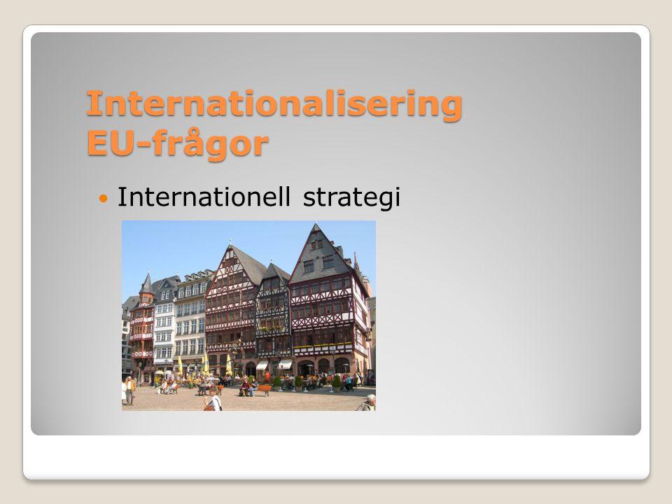 Varför internationalisering.