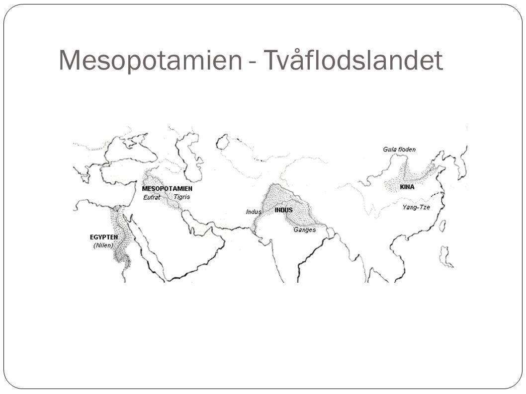 Mesopotamien - Tvåflodslandet