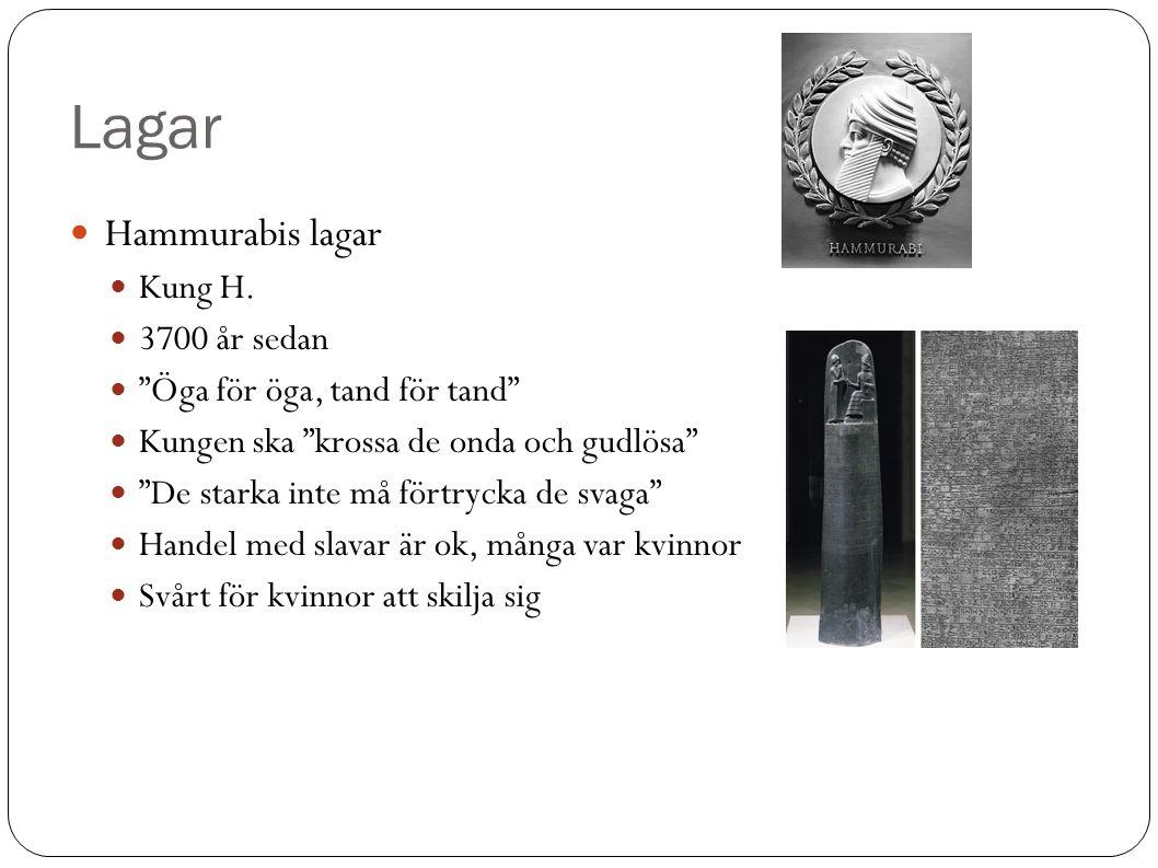 Lagar Hammurabis lagar Kung H.