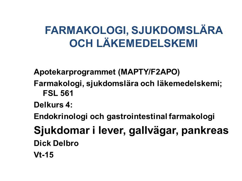 Kronisk pankreatit