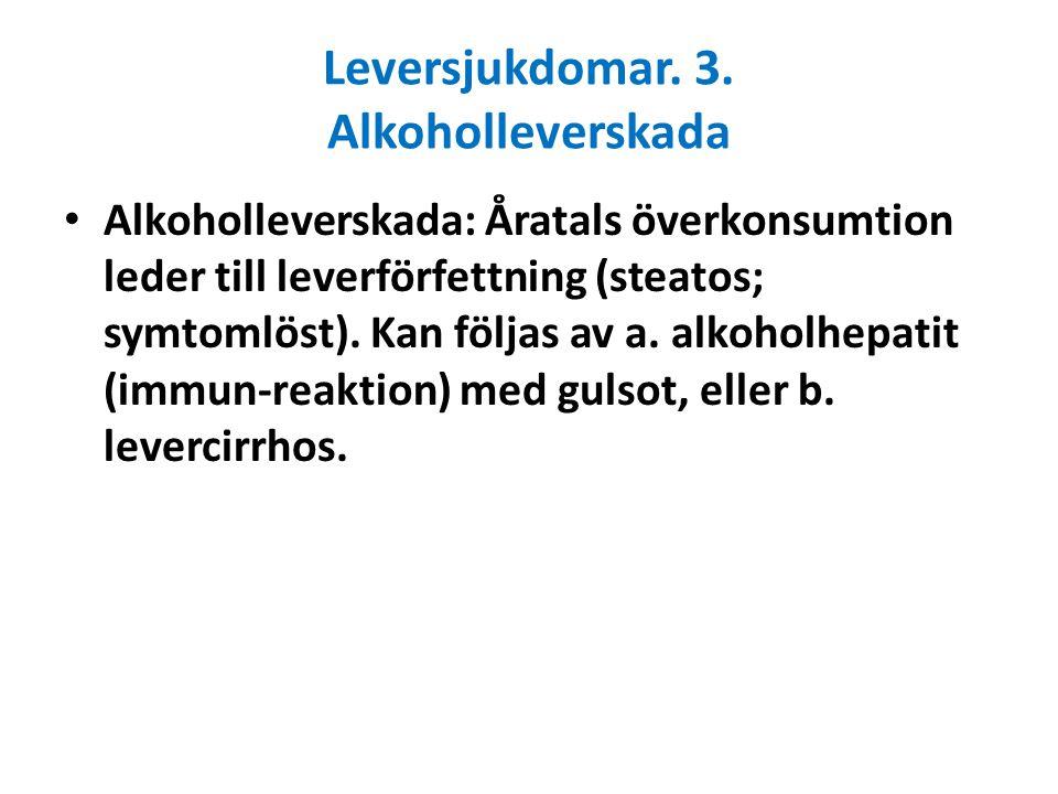 Normal lever Fettlever