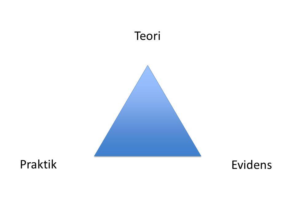 Evidens Teori Praktik