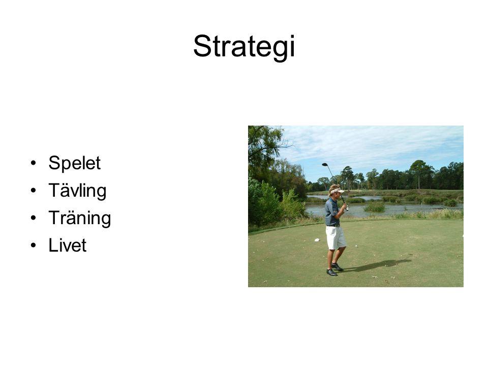 Strategi Spelet Tävling Träning Livet
