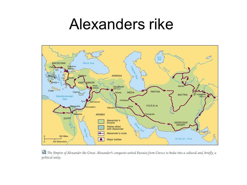Alexanders rike