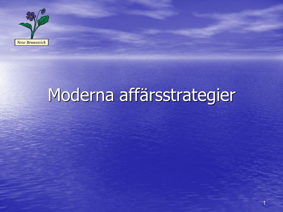 1 Moderna affärsstrategier