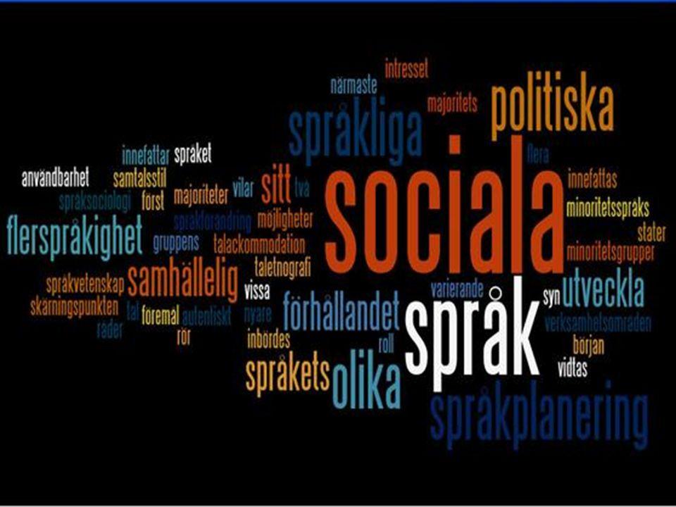 Vad är språksociologi?