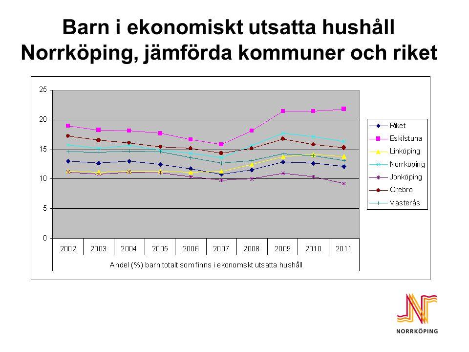 Befintliga styrverktyg i Norrköpings kommun  Visionen – det goda Livet  Tydligt politiskt fokus på arbete fler jobb och fler i jobb  Exempel på mål för mandatperioden - Utbildningsnivån i Norrköping ska höjas och arbetslösheten sjunka.