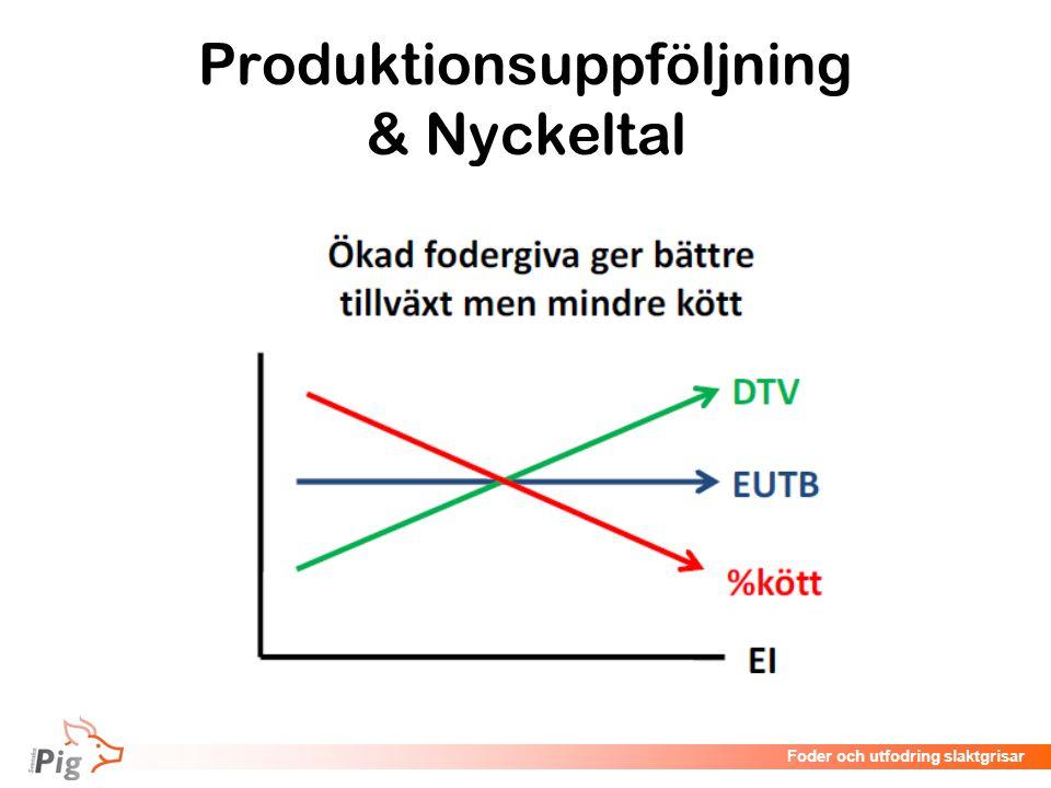 Föreläsningsrubrik / temaFoder och utfodring slaktgrisar Produktionsuppföljning & Nyckeltal