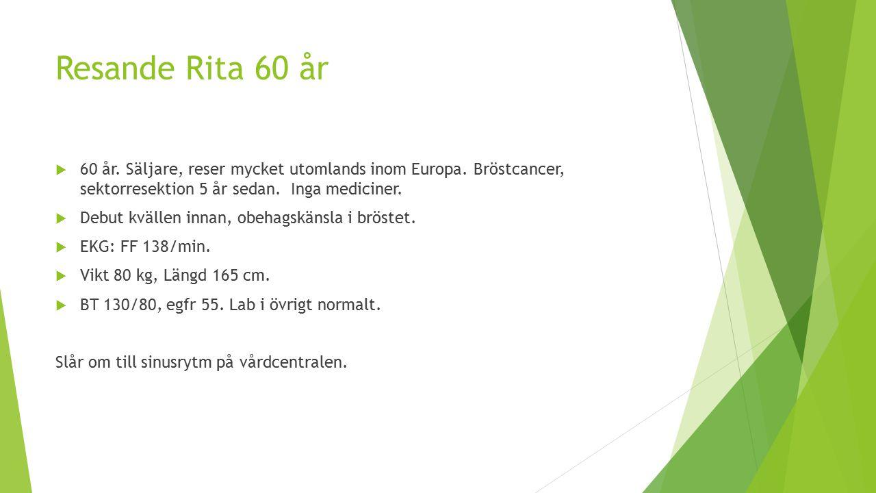 Resande Rita 60 år  60 år.Säljare, reser mycket utomlands inom Europa.