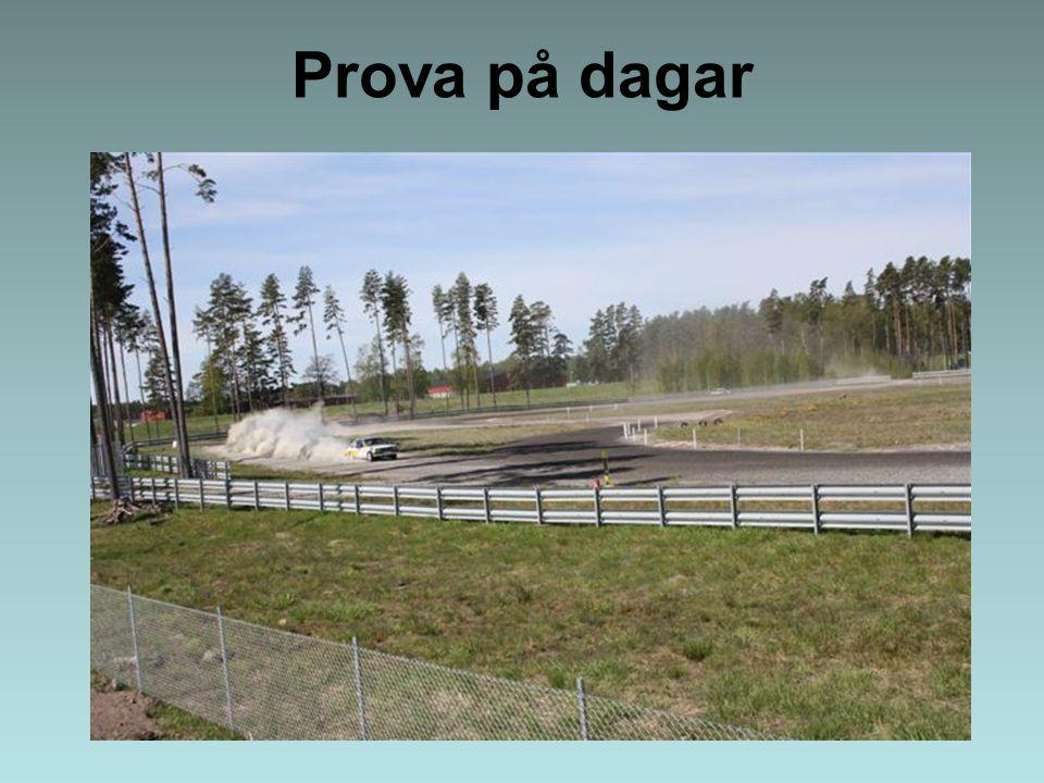MotorsportArenan Lidköping Folkrace –Anpassad passagerarstol - för de som inte kan köra själva