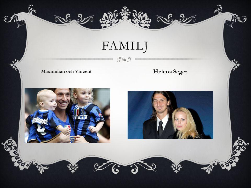FAMILJ Maximilian och Vincent Helena Seger
