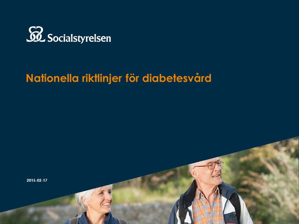 Att visa fotnot, datum, sidnummer Klicka på fliken Infoga och klicka på ikonen sidhuvud/sidfot Klistra in text: Klistra in texten, klicka på ikonen (Ctrl), välj Behåll endast text Att förebygga diabeteskomplikationer Intensivbehandling för att sänka HbA 1c Hälso- och sjukvården bör – erbjuda intensivbehandling till personer med typ 1-diabetes för att nå bästa möjliga blodglukosnivå med hänsyn till risken för hypoglykemi, försämrad livskvalitet eller annat som skulle kunna tänkas påverka patienten negativt – erbjuda intensivbehandling till personer med nydebuterad typ 2-diabetes utan känd hjärt-kärlsjukdom för att nå bästa möjliga blodglukosnivå med hänsyn till risken för hypoglykemi, kraftig viktuppgång och försämrad livskvalitet samt förväntad återstående livslängd och annan sjukdom.