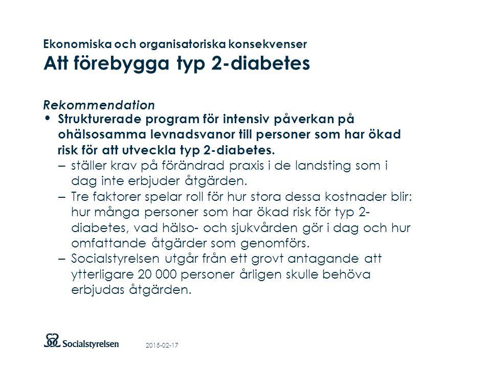 Att visa fotnot, datum, sidnummer Klicka på fliken Infoga och klicka på ikonen sidhuvud/sidfot Klistra in text: Klistra in texten, klicka på ikonen (Ctrl), välj Behåll endast text Ekonomiska och organisatoriska konsekvenser Att förebygga typ 2-diabetes Rekommendation Strukturerade program för intensiv påverkan på ohälsosamma levnadsvanor till personer som har ökad risk för att utveckla typ 2-diabetes.