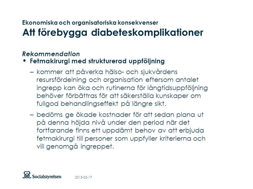 Att visa fotnot, datum, sidnummer Klicka på fliken Infoga och klicka på ikonen sidhuvud/sidfot Klistra in text: Klistra in texten, klicka på ikonen (Ctrl), välj Behåll endast text Fetmakirurgi med strukturerad uppföljning – kommer att påverka hälso- och sjukvårdens resursfördelning och organisation eftersom antalet ingrepp kan öka och rutinerna för långtidsuppföljning behöver förbättras för att säkerställa kunskaper om fullgod behandlingseffekt på längre sikt.