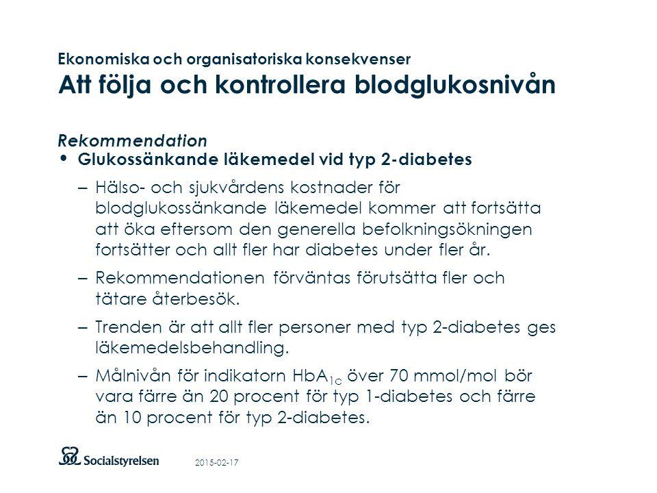 Att visa fotnot, datum, sidnummer Klicka på fliken Infoga och klicka på ikonen sidhuvud/sidfot Klistra in text: Klistra in texten, klicka på ikonen (Ctrl), välj Behåll endast text Ekonomiska och organisatoriska konsekvenser Att följa och kontrollera blodglukosnivån Rekommendation Glukossänkande läkemedel vid typ 2-diabetes – Hälso- och sjukvårdens kostnader för blodglukossänkande läkemedel kommer att fortsätta att öka eftersom den generella befolkningsökningen fortsätter och allt fler har diabetes under fler år.