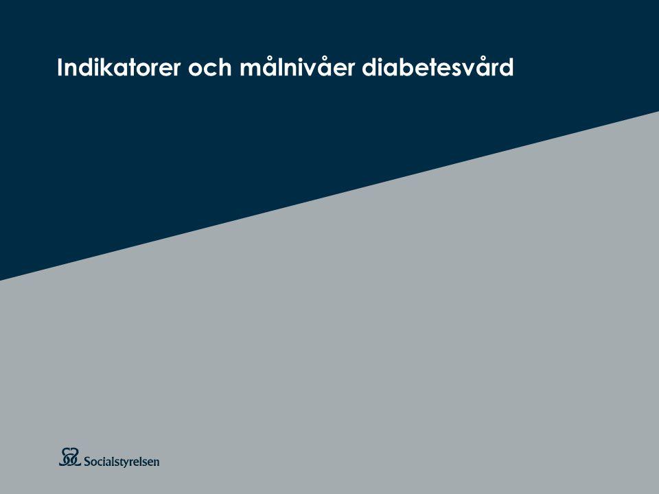 Att visa fotnot, datum, sidnummer Klicka på fliken Infoga och klicka på ikonen sidhuvud/sidfot Klistra in text: Klistra in texten, klicka på ikonen (Ctrl), välj Behåll endast text Rubrik: Century Gothic, bold 26pt Indikatorer och målnivåer diabetesvård