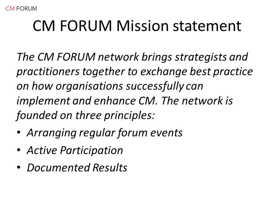 Question no 8: Så här ofta tror jag att jag har möjlighet att delta på CM FORUM nätverksträffar (heldags-event):