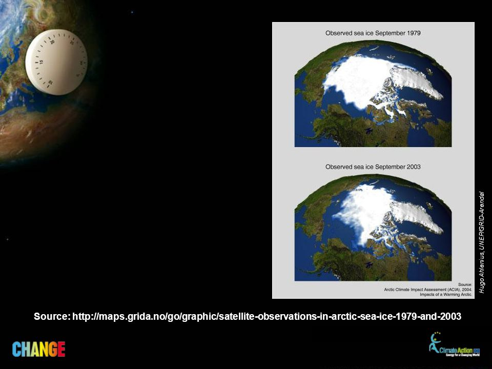 Source: http://maps.grida.no/go/graphic/satellite-observations-in-arctic-sea-ice-1979-and-2003 Hugo Ahlenius, UNEP/GRID-Arendal