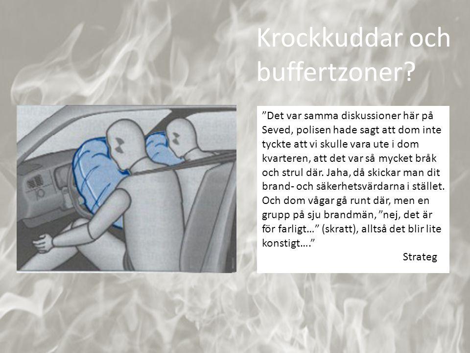"""Källa:http://www.liikenneturva.fi/www/sv/sakerhetsinfo/bilister/krockkudde.php """"Det var samma diskussioner här på Seved, polisen hade sagt att dom int"""