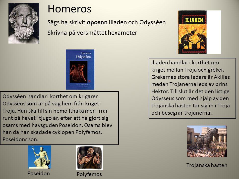 Det grekiska dramat Föddes i Grekland ca 500 f.Kr Varje år hölls stora festspel där man hyllade vinets och sångens gud Dionysos.
