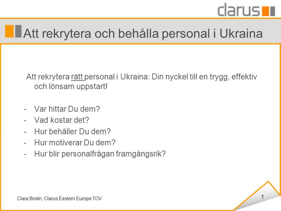 1 Att rekrytera och behålla personal i Ukraina Att rekrytera rätt personal i Ukraina: Din nyckel till en trygg, effektiv och lönsam uppstart.