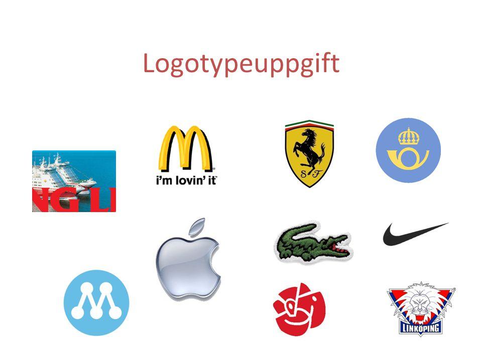 Logotypeuppgift