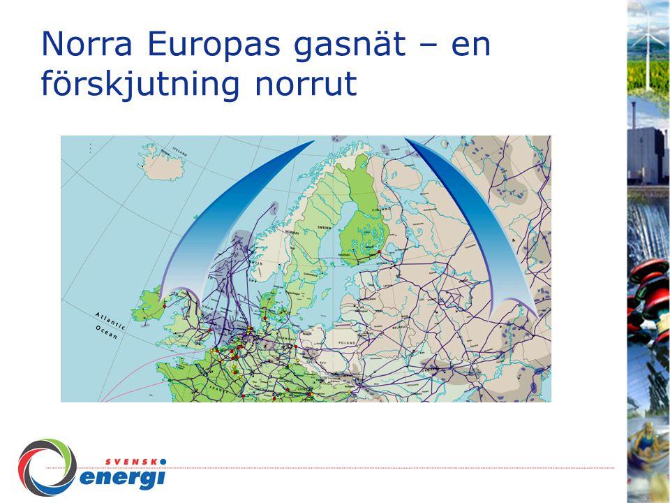 Norra Europas gasnät – en förskjutning norrut