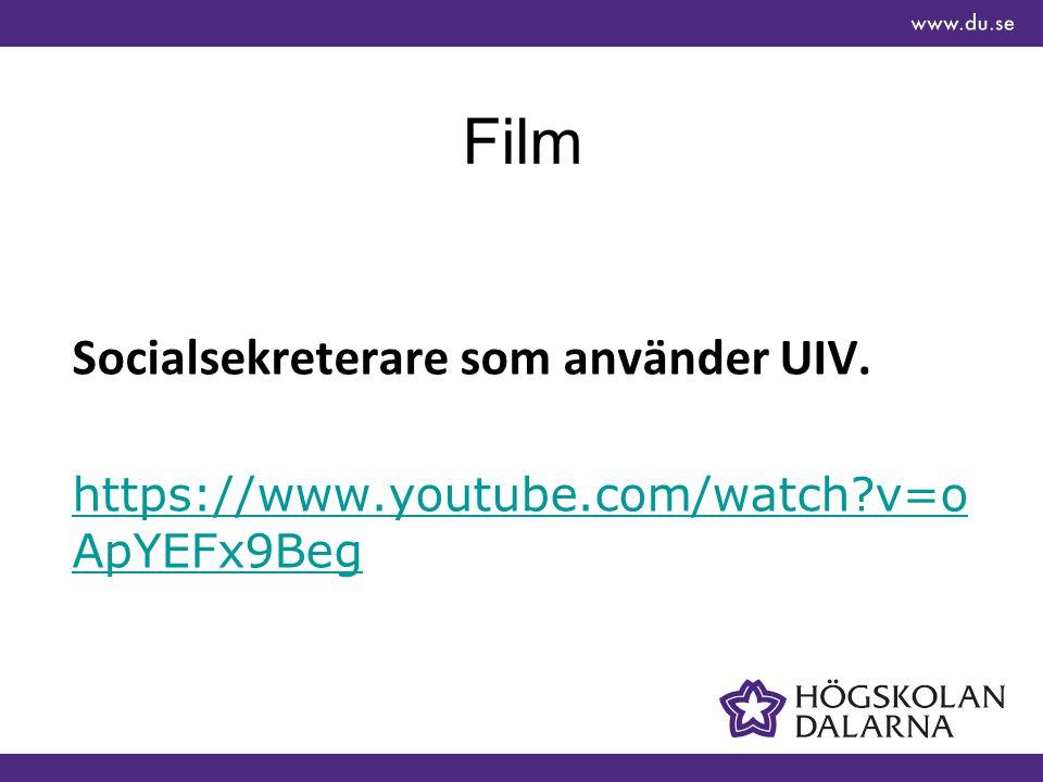 Kostnad per placering kopplat till UIV (missbruks förändring)