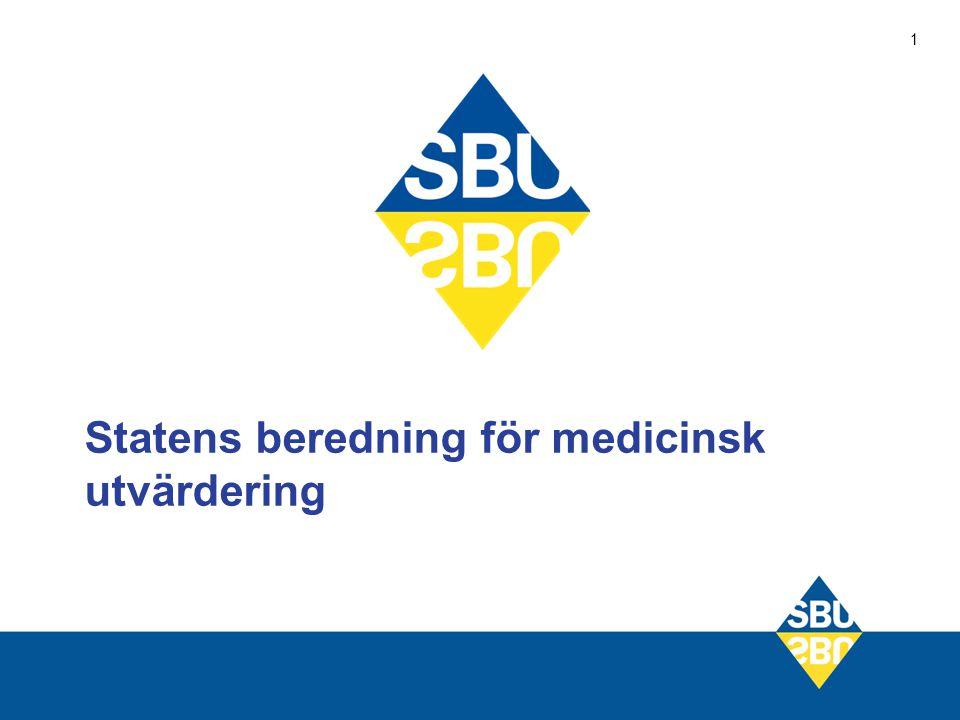 2 SBU:s uppgift att vetenskapligt utvärdera tillämpade och nya metoder ur (ett samlat) medicinskt, ekonomiskt, socialt och etiskt perspektiv