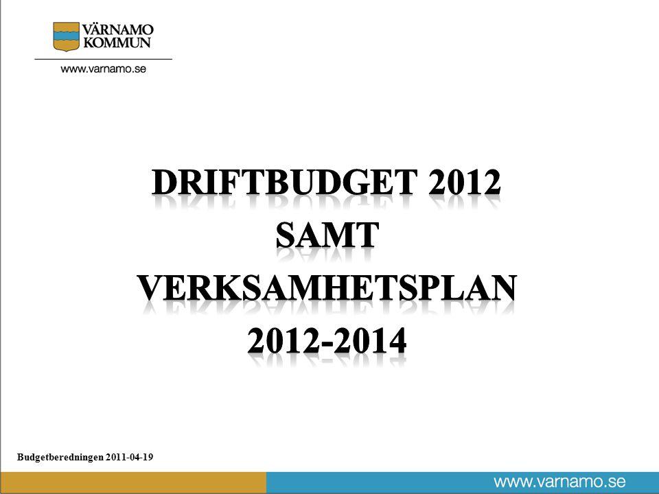 Budgetberedningen 2011-04-19 Utjämningskommittén.08 lämnar sitt förslag 30/4 (kostnadsutjämning) Små förändringar (gsk, gy, lönestruktur etc) Ny modell för bo och ifo Modell för ÄO förenklas Uppdaterad modell för kollektivtrafik Förändringarna kan får stora effekter