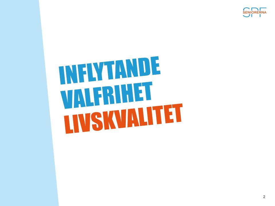 INFLYTANDE VALFRIHET LIVSKVALITET 2
