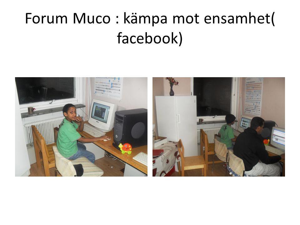 Muco info till skolor Ger information till elever för att öka integration av våra barns i olika skolor.