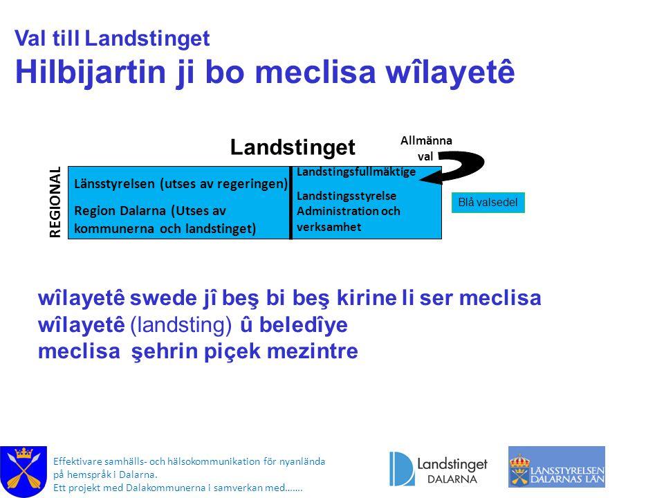 Effektivare samhälls- och hälsokommunikation för nyanlända på hemspråk i Dalarna. Ett projekt med Dalakommunerna i samverkan med……. Länsstyrelsen (uts
