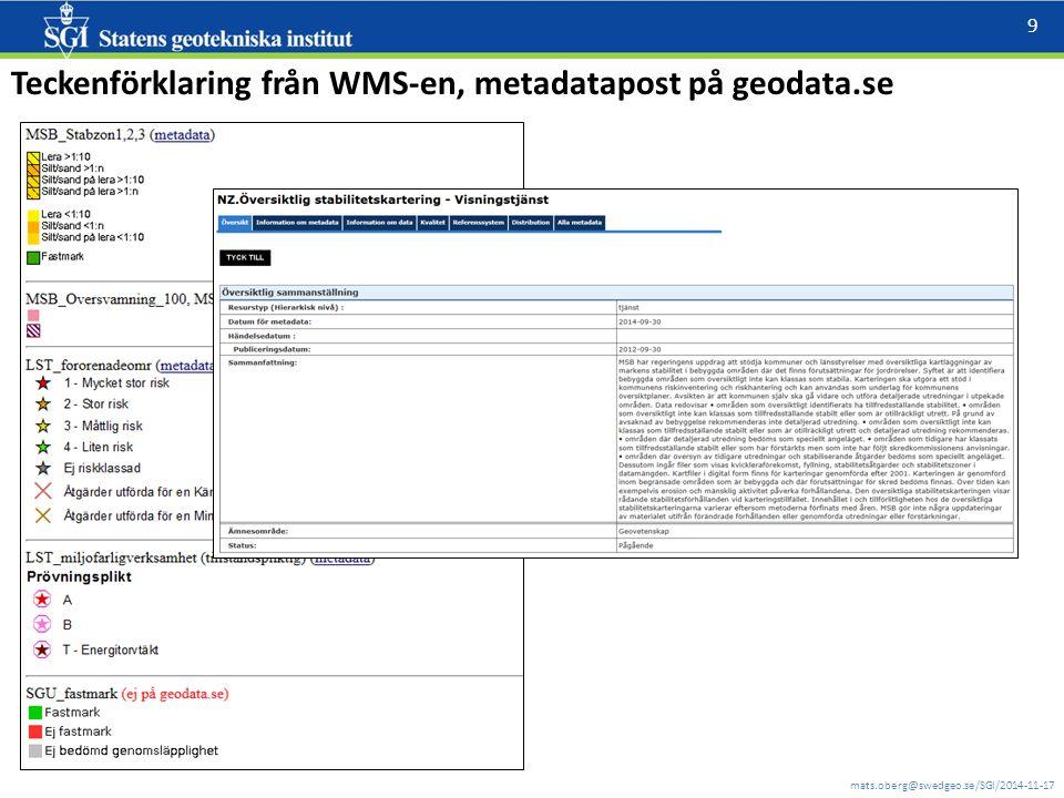 mats.oberg@swedgeo.se/SGI/2014-11-17 10 RTJ fält version 1.0 (141121) Olika sätt att påföra (och flytta/ta bort) en punkt : 1.PUNKT VID POSITION - Välj detta verktyg.