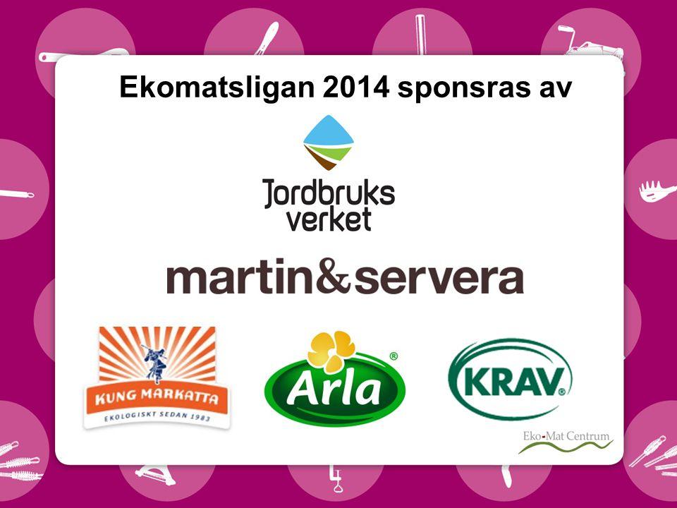 Ekomatsligan 2014 sponsras av