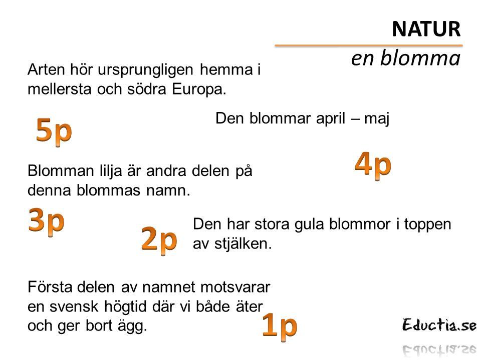 Arten hör ursprungligen hemma i mellersta och södra Europa. Den blommar april – maj Blomman lilja är andra delen på denna blommas namn. Första delen a