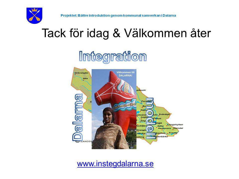 Tack för idag & Välkommen åter www.instegdalarna.se