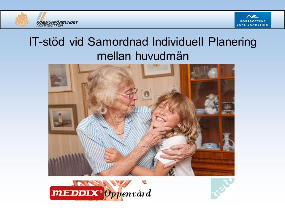 IT-stöd vid Samordnad Individuell Planering mellan huvudmän