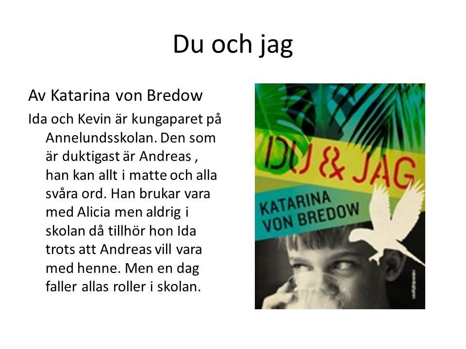 Du och jag Av Katarina von Bredow Ida och Kevin är kungaparet på Annelundsskolan. Den som är duktigast är Andreas, han kan allt i matte och alla svåra