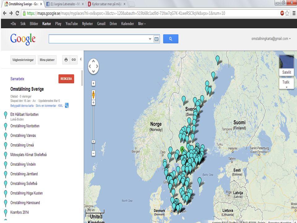 Norrbotten 25/2 Västerbotten 27/4 Västernorrland 40/7 Gävleborg 135/8 Västmanland 19/5 Uppsala 167/10 Stockholm 317/24 Södermanland 40/8 Östergötland 161/6 Kalmar 19/5 Blekinge 27/3 Skåne 201/14 Kronoberg 62/3 Halland 4/2 Västra Götaland 270/14 Örebro 48/8 Värmland 49/7 Jämtland 17/1 Dalarna 120/7 Jönköping 33/6 Övriga 407/22 Omställning Sverige Medlemmar/Grupper 2213/171