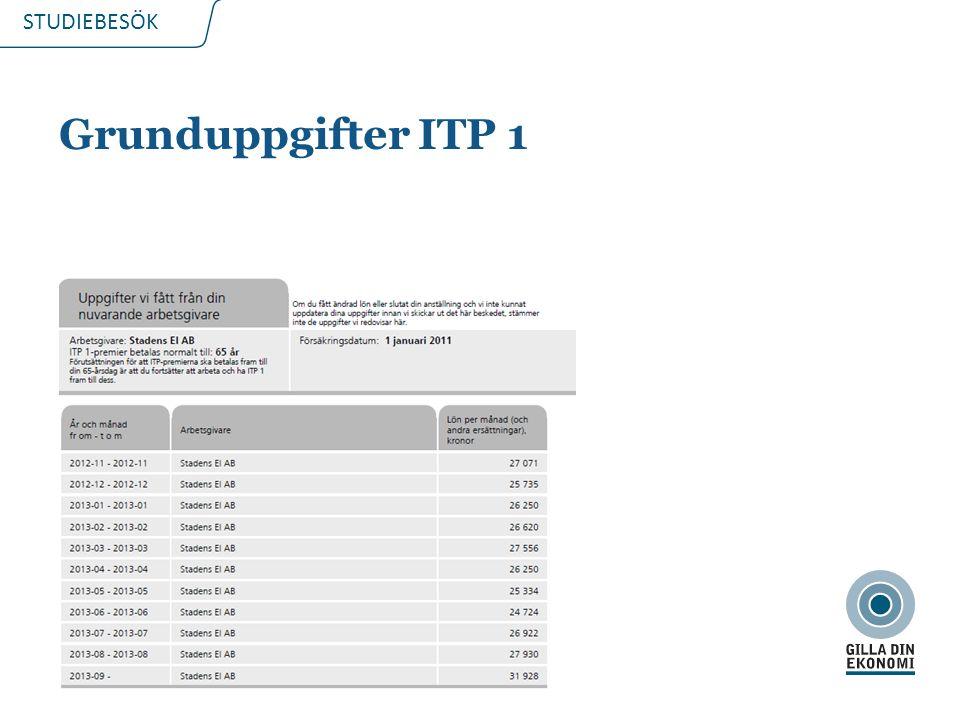 STUDIEBESÖK Grunduppgifter ITP 1 2015-03-218